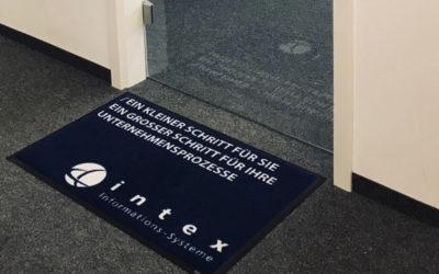 Fußmatte für Software-Unternehmen intex