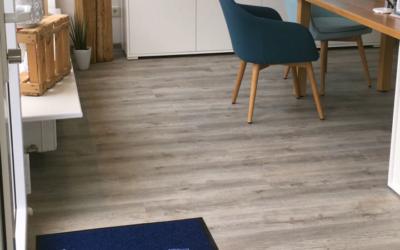 Fußmatte für Reisebüro